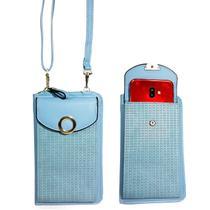 Bolsa carteira tiracolo porta celular - bll755 - Baoluolan