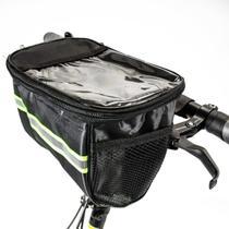 Bolsa Case Porta Celular Suporte para Guidão de Bike Bicicleta Patinete Elétrico Two Dogs  Pliage Plus -