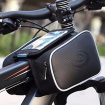 Bolsa Case Quadro Bicicleta Bike Ciclismo Dupla Com Suporte Celular - Roswheel