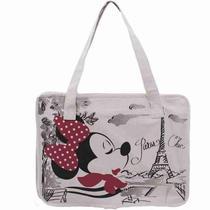 Bolsa Chic Minnie Em Paris - Disney -