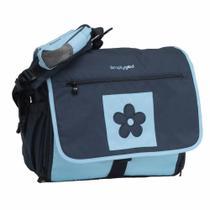 Bolsa Com Trocador Daisy Diaper Bag Azul - Simplygood G1004 - Brasbaby