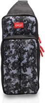 Bolsa Compatível C/ Nintendo Switch Lite Bag de Ombro Durável Preta - Ipega -