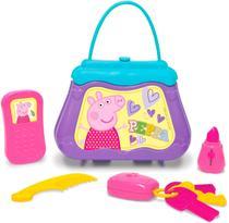 Bolsa Da Peppa Pig Com Acessórios Menina - Elka Brinquedos -