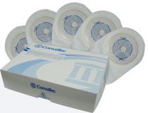 Bolsa de Colostomia Drenável Recortável Transparente 19 a 64mm Convatec Kit com 10 und -