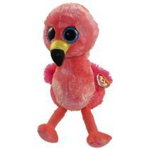 Bolsa de Pelucia Mochila Ty Fashion Flamingo Gilda 4926 - Dtc