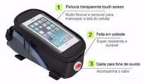 Bolsa De Quadro Bike P/ Celular Smartphone - Ll