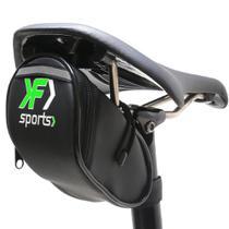 Bolsa de Selim Para Bike F Sports Slim Impermeável Verde -