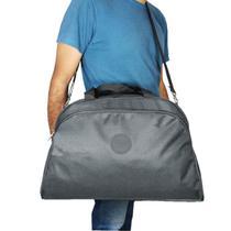Bolsa De Viagem Masculina E Feminina Black Mac - Mac mochilas