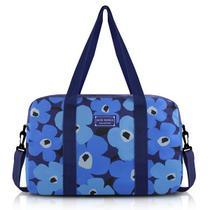 007b63d83f5ae Bolsa de Viagem Papoula Poliéster Azul - Jacki Design