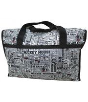 Bolsa De Viagem Quadrinhos Mickey Grande - Mickey  Minnie