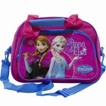 Bolsa De Viagem Rosa Anna e Elsa Frozen - Disney - Taimes