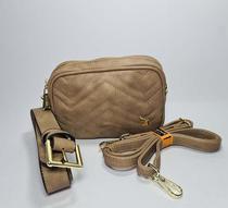 Bolsa Feminina Couro PU Transversal/Pochete Fenix Pequena - Golden Fenix