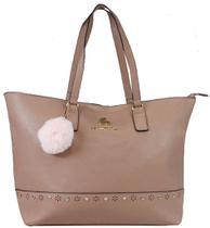 229aeea76 Bolsa Feminina Rebecca Bonbon Original Lado Grande Rose Tote Bag Semax