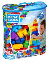 Bolsa Grande para Construção 80 peças Fisher-Price - Mattel CYP72 -