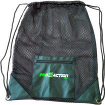 Bolsa Gym Mesh em Material Resistente e Durável 40x50cm Proaction G180 -
