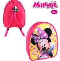 Bolsa Infantil da Minnie Mochilinha Disney 32cm - 139951 - Etilux