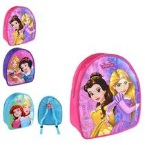 Bolsa Infantil Princesas Mochilinha Disney 32cm - 139952 - Etilux