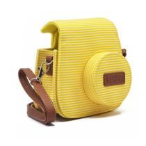 Bolsa Instax Mini Groovy - Amarelo Listrado - Fujifilm