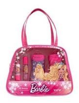 Bolsa Kit Beleza Infantil Cosmeticos Barbie View -