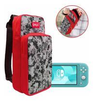 Bolsa Mala Compativel c/ Nintendo Switch /Switch Lite Case Bag Viagem Ipega video game -