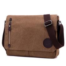 Bolsa Maleta Masculina de Lona para Notebook de 13.3 polegadas - Tokshop