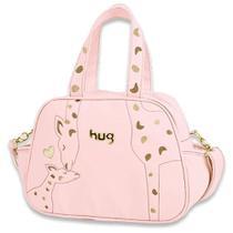 Bolsa Maternidade Amor de Mãe G Hug Rosa B7703 -