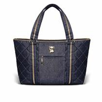 Bolsa Maternidade Classic For Baby Toledo Jeans - Classic for baby bags