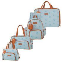 Bolsa Maternidade Kit 4 Peças Céu Estrelado Azul - Hug -