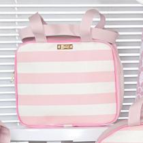 Bolsa Maternidade Menina Glamour Rosa P - Sônia enxovais