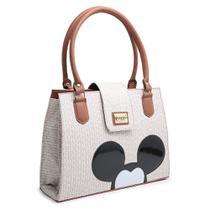 Bolsa Mickey Mouse Compacta Alça Dupla Mão - Gouveia Costa