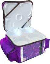 Bolsa Mochila Bag Delivery Nylon Pequena 12 Marmitex Alumínio Nº 08 - Andrades Mochilas Delivery