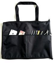 Bolsa Multiuso Porta Maquiagem / Esmaltes até 120 frascos com 2 bolsos externos - Mm