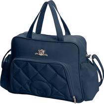 Bolsa para Bebês Hug Meu Ursinho com Trocador - Grande - Azul Marinho -