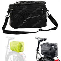 Bolsa para Bicicleta Bike Alforge Rack Top Pack Deuter Preto
