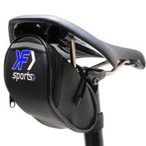 Bolsa para bicicleta selim compacto com ziper oferta - Kf Sports