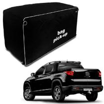 Bolsa para Caçamba Pick-Up 360 Litros Média Horizontal Preta Universal Splody -
