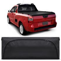 Bolsa Para Caçamba Pick-Up Montana LS 2011 a 2019 Preto 140 Litros Grande Capacidade 50Kg - Top gear