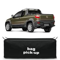 Bolsa Para Caçamba Pick-Up Strada Adventure 2011 a 2018 Preta 216 Litros Capacidade 30Kg - Top Gear