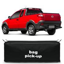 Bolsa Para Caçamba Pick-Up Strada Working 2010 a 2018 Preta 216 Litros Capacidade 30Kg - Top Gear