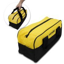 Bolsa para Ferramentas em Lona Universal Vonder 8 Divisões 5Kg Amarela e Preta -