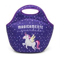 Bolsa para lanche unicornio - Ludi