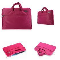 "Bolsa para Notebook/Laptop Bag Universal 13"" Design Luxuoso - Okade (Rosa) - Tamanho M -"