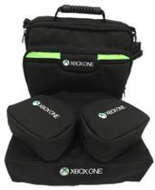 Bolsa Pasta Xbox One X  + Cases controle e capa console - Kit 4 Peças VL - ATCOMPACT
