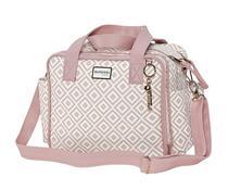 Bolsa Pequena Maternidade Geometric Rosa - Batistela Baby -