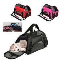 Bolsa pet viagem transporte mochila mala para cachorro gato caixa passeio caes - Makeda