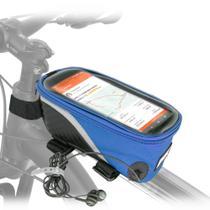 Bolsa porta celular e objetos colorida pra bike. - Tork Sports