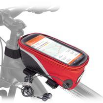Bolsa porta celular e objetos para bike colorida. - Tork Sports