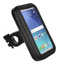 Bolsa Resistente D'agua Capa Suporte Gps Celular Moto Bike - Tomate