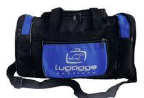 Bolsa sacola bordo mao mala de viagem pequena azul - Lugagge