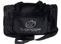 Bolsa sacola bordo mao mala de viagem pequena preta - Lugagge